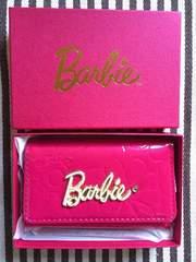 新品・未使用☆Barbie バービー キーケース ピンク 3619202
