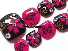 ★MIKAKO★桜と蝶々フルペディ(42)