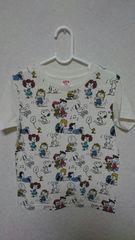 10円スタ☆UNIQLOユニクロ☆スヌーピー半袖Tシャツ☆