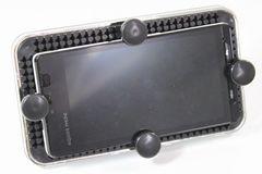 便利 iphone&スマートフォンホルダーピンでサイズ調整可能