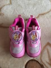 新品★girl靴ディズニー.プリンセス18cm