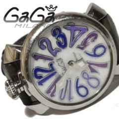 極レア 1スタ★ガガミラノ Gaga Milano マヌアーレ40 腕時計