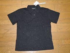 新品n(n)ナンバーナインNUMBER(N)INEラメポロシャツ2黒半袖