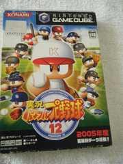 実況パワフルプロ野球12(ゲームキューブ用ソフト)