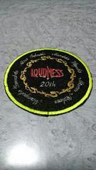 LOUDNESS ラウドネス 20th ツアーグッズ ワッペン 新品