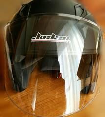 バイク用ヘルメット!黒