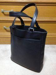 アニエスベー レザー ハンド・トートバッグ 本革鞄 黒色 日本製 ポーター 肩掛け