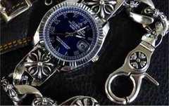 高級重量感 クロス ブレス ウォッチ クロムハーツ 好きに 腕時計