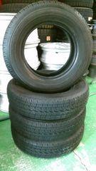 4061703)激安中古4本セット145R12LT6PR商用車タイヤ即決送料無料