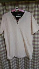 ★和柄 さりげなく お洒落! 渋い ピンク サイズLL Tシャツ★