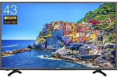 【人気】43V型 フルハイビジョン 液晶 テレビ 外付けHDD録画対応