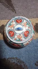 磁器蓋付き小鉢