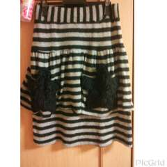 ☆Candy Stripper ニット素材ボーダースカート☆