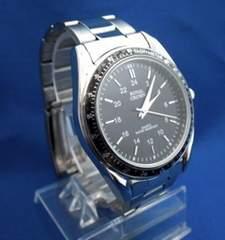 メタリックウォッチBK-腕時計