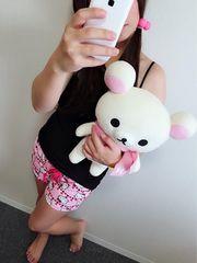 キティちゃんのショートパンツ☆.。.:*コットンLサイズ♪