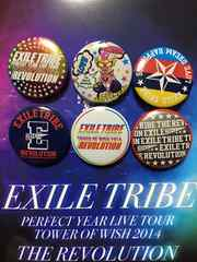 ♪EX TRIBE TOW2014♪缶バッジ★今市隆二 登坂広臣 岩田剛典☆