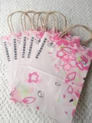 新品 未使用 スターバックス 桜 さくら SAKURA ショッパー 紙袋 5枚