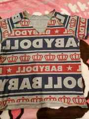 BABYDOLL☆リバーシブルTシャツ☆110センチ