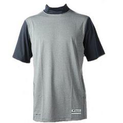 新品◆NIKEグレー×紺ナイキプロフィッテッド半袖Tシャツ(M)