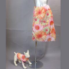 ≪新品♪小型犬≫ ペアルック!シフォンスカート♪送料込み