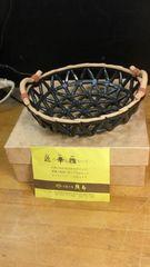 株式会社織部のまるで、竹篭のような陶磁器。未使用。