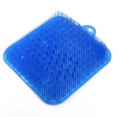 足洗いマット ブルー