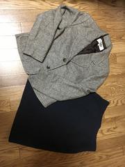 50スタ★美品★クロエ:ジャケット&タイトスカート2点セット( M)