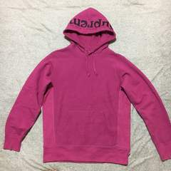Supreme Sick Mother Hooded Sweatshirt★フードロゴパーカー