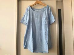 フェリシモ  綺麗め半袖Tシャツ  L