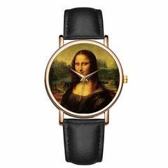 モナリザ 絵画 腕時計 バオサイリ