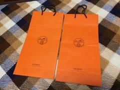 エルメスHERMESショップ袋紙袋2枚セット