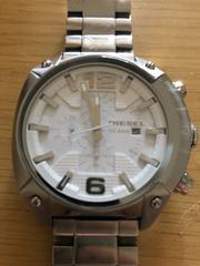 ディーゼル 腕時計 クロノグラフ DZ-4315 稼働品