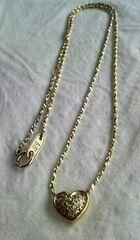 ニナリッチ(NINNA RICH)★ハート型ダイヤモンドネックレス
