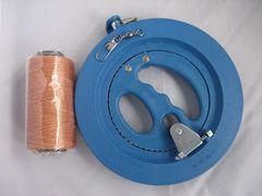 直径18cm 回転リール 糸巻き 凧糸 スイベル 凧 たこあげ 水糸