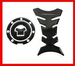 ホンダ タンクパッド&キャッププロテクター  オートバイ (黒)