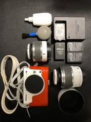 ニコン J2 ダブルズームキット ミラーレス一眼 Nikon 1