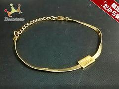 クリスチャンディオール ブレスレット 美品 金属素材 ゴールド