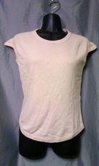 ジェイクルー J.CREW フレンチスリーブ Tシャツ S 未使用品 ベージュ 。
