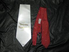 ◆Vivianwestwood(ヴィヴィアンウエストウッド)ネクタイ/赤チェック/ビジネスに/格安