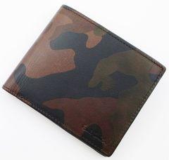 新作/新品 ポールスミス ミリタリーデザイン 二つ折り財布 f49