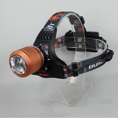 1800LM★RJ-2800CREEXM-LT6LEDヘッドライト+充電池2本/オレンジ