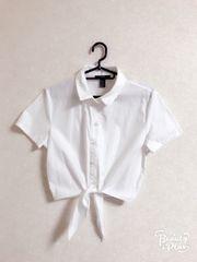 新品!Forever21☆前結びシャツ