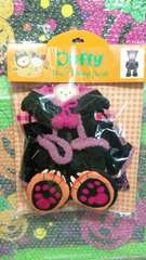 ディズニー TDS ハロウィン シェリーメイ ぬいぐるみ用 コスチューム 黒猫 ステラルー