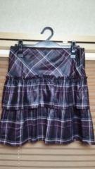 ミッシェルクラン チェックの可愛いスカート