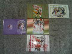 トレカ  女神さま  ノーマルカード(MEGA-GRA)  5枚セット