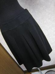 w67美品黒フレアスカート♪