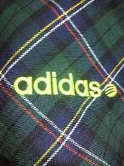 adidas アディダス パーカー ジャケット ジャンパー グリーン Lサイズ ギンガムチェック