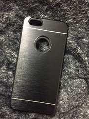 iPhone6 アルミ+シリコンWカバーケース