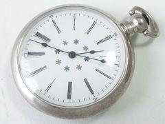 8977/渋いヴィンテージ大型懐中時計★雰囲気もよくお勧めですよ〜