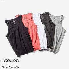 ノースリーブTシャツ メンズ  メンズ カジュアル Tシャツ18ytx15
